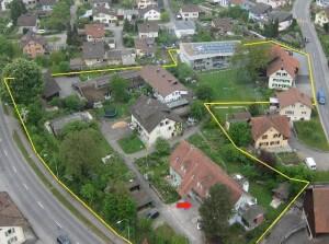 Luftbild Rusterholz-Siedlung