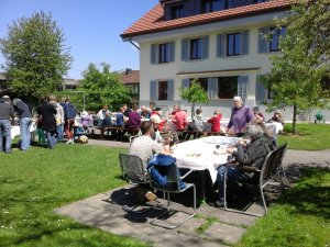 """Lunch at the """"estate working day"""""""
