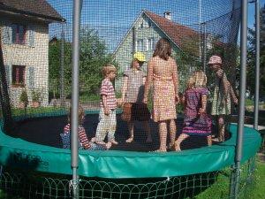 The trampolin
